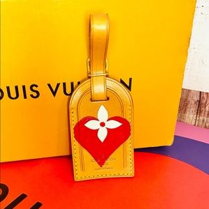 """Louis Vuitton luggage name tag """"game on"""" custom"""